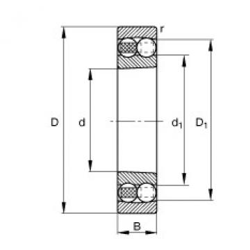 Rodamiento 2215-K-TVH-C3 FAG