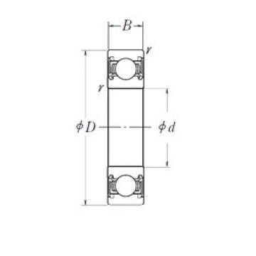 Rodamiento 3TM-SC06A63LLUCS31PX2/L014 NTN