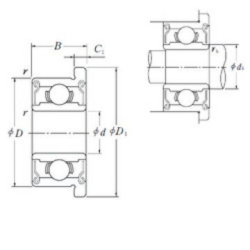 Rodamiento FR0ZZ ISO