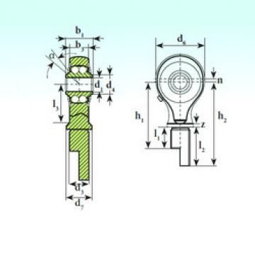 Rodamiento TSM 12-00 BB-E ISB
