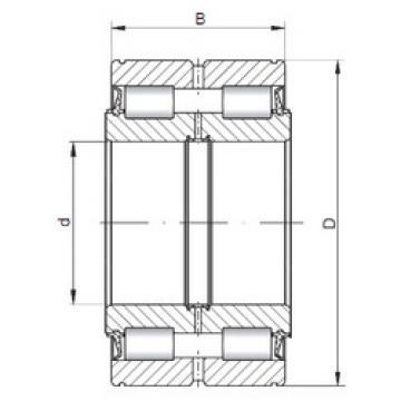 Rodamiento SL045004 ISO