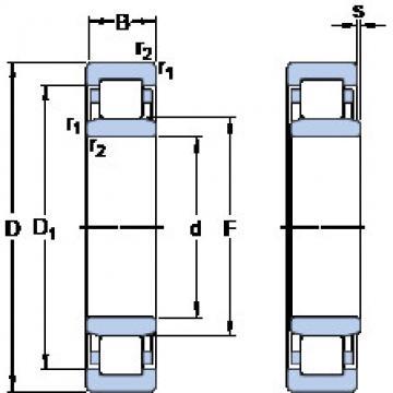 Rodamiento NU 29/600 ECMA/HB1 SKF