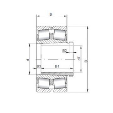 Rodamientos 24160 K30CW33+AH24160 ISO