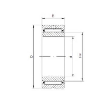Rodamiento NKI45/25 ISO
