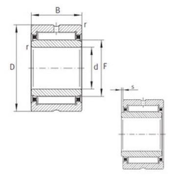 Rodamiento NKI22/20-XL INA