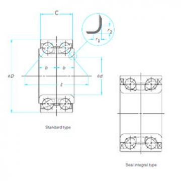 Rodamiento AU0712-1/L260 NTN