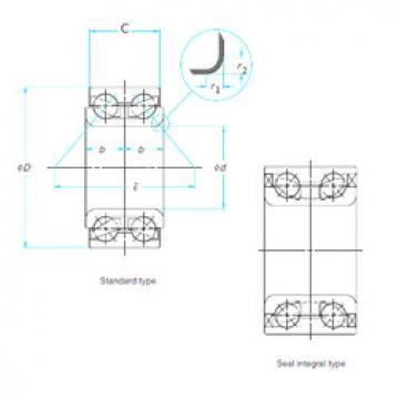 Rodamiento AU0714-2LX3L/L588 NTN