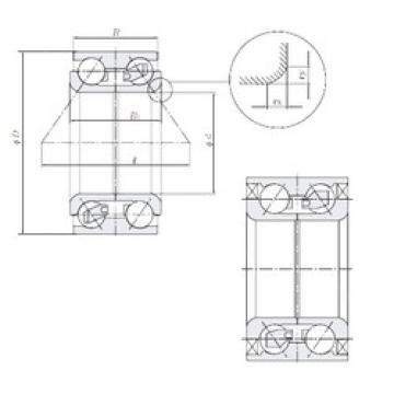 Rodamiento AU0804-4LL/L260 NTN