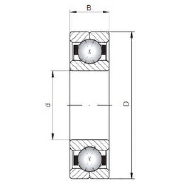 Rodamiento Q211 ISO