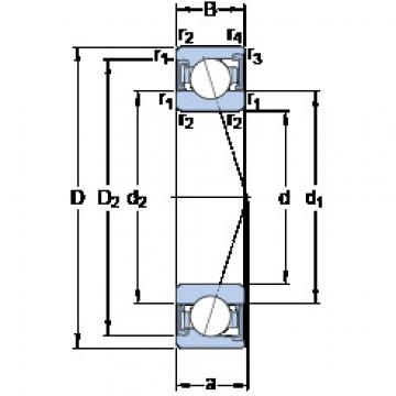 Rodamiento S7000 ACD/HCP4A SKF