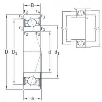 Rodamiento VEX 20 /S/NS 7CE1 SNFA