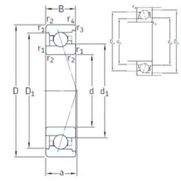 Rodamiento VEX 50 /NS 7CE1 SNFA