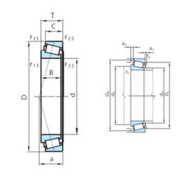 Rodamiento PSL 611-3 PSL