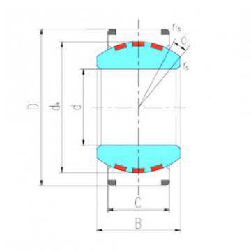 Rodamiento GEH420XF/Q LS