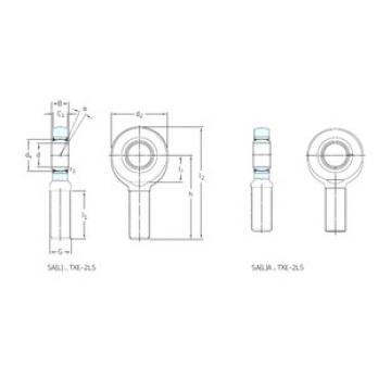 Rodamientos SALA45TXE-2LS SKF