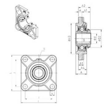 Rodamiento UKFS328H SNR