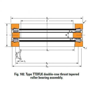 Bearing T7020 Thrust Race Single