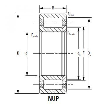 Bearing NU1076MA