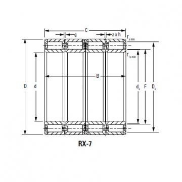 Bearing 250ARVS1681 276RYS1681
