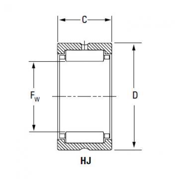 Bearing HJ-14017048 IR-