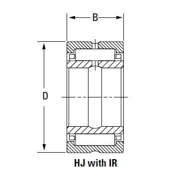 Bearing HJ-13216248 IR-11213248