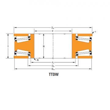 Bearing Thrust race single T10400