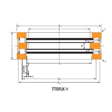 Bearing Thrust race single T7020