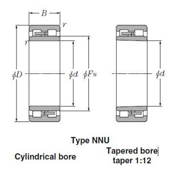 Bearings Tapered Roller Bearings NN3068K