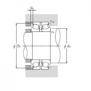 Bearing HH249949D/HH249910+A