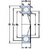 Rodamiento 71809 ACD/HCP4 SKF