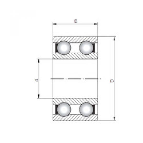 Rodamiento 4314 ISO #1 image