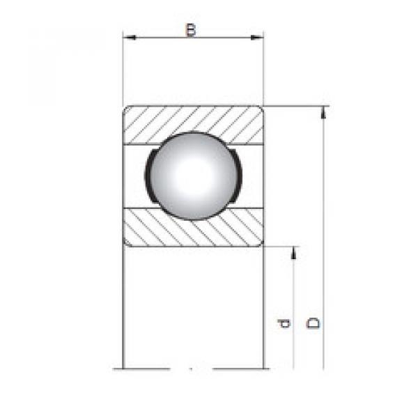 Rodamiento 619/3 ISO #1 image