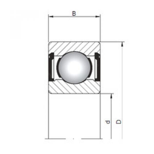 Rodamiento 617/9 ZZ CX #1 image