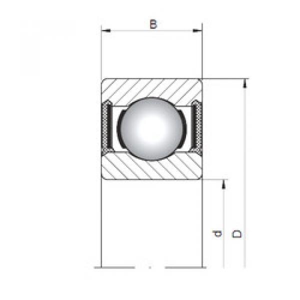 Rodamiento 619/1-2RS CX #1 image