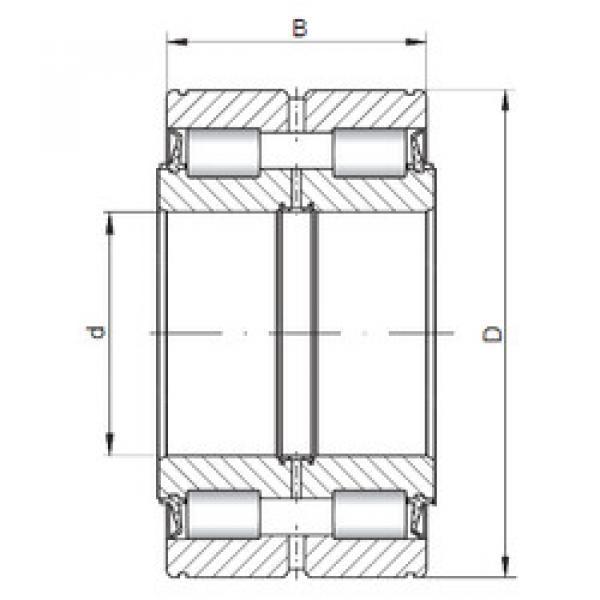 Rodamiento SL045004 ISO #1 image