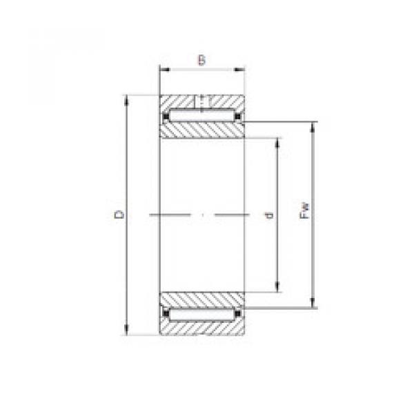 Rodamiento NKI30/20 ISO #1 image