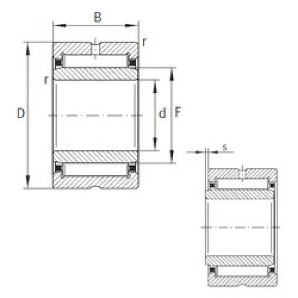 Rodamiento NKI22/20-XL INA #1 image