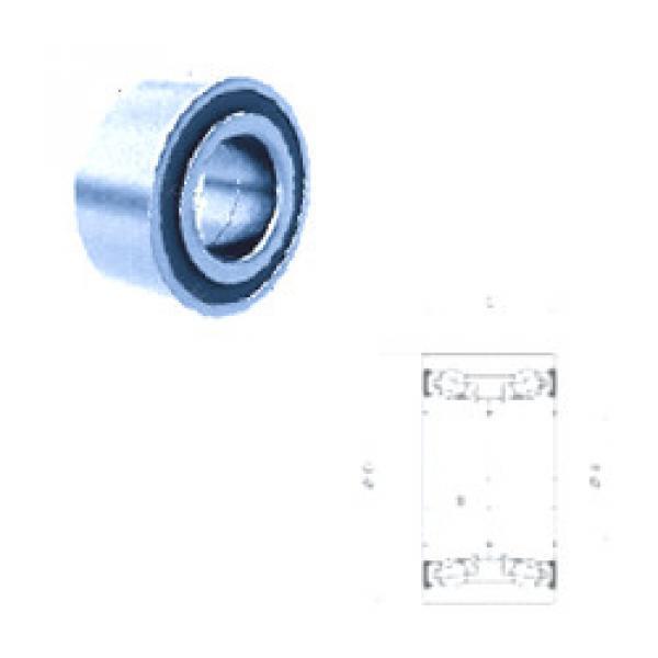 Rodamiento PW45840053CSHD PFI #1 image