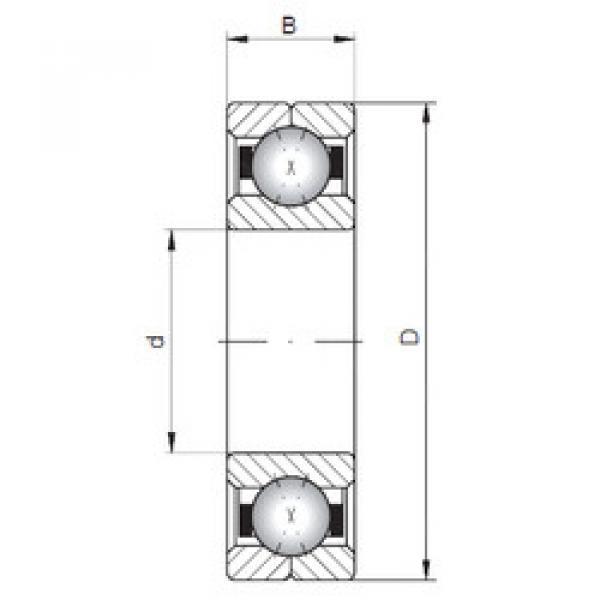 Rodamiento Q1034 ISO #1 image