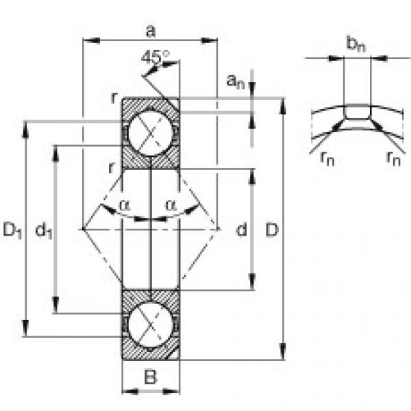 Rodamiento QJ326-N2-MPA FAG #1 image