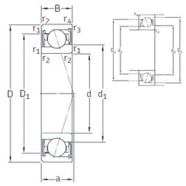 Rodamiento VEB 110 /S/NS 7CE1 SNFA #1 image
