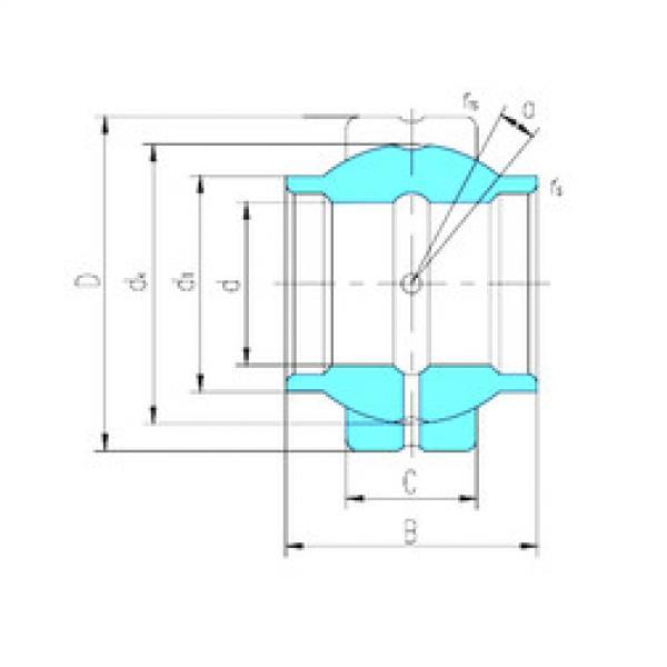 Rodamiento GEWZ50ES LS #1 image