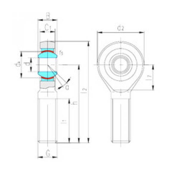 Rodamientos SAK5C LS #1 image