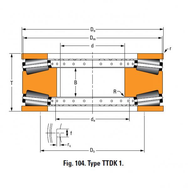 Bearing 13200F Thrust Race Single #4 image