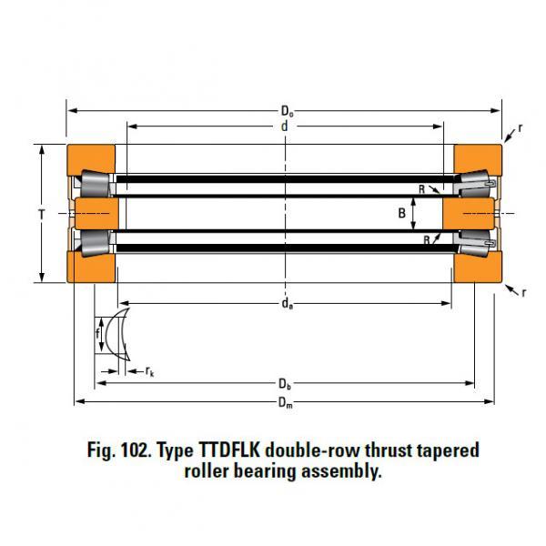 Bearing 13200F Thrust Race Single #1 image
