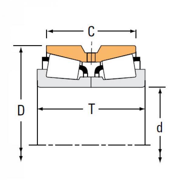 Bearing NA455 452D #1 image