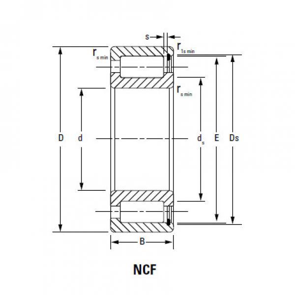 Bearing NCF1868V #2 image