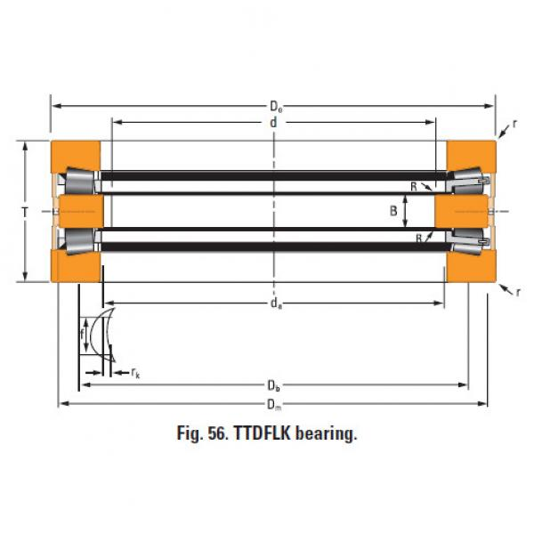 Bearing Thrust race double T730dw #1 image