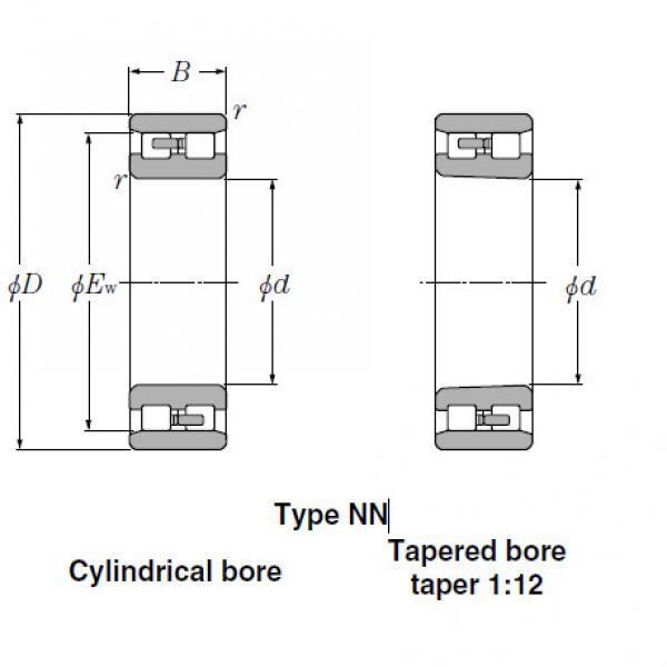 Bearings Cylindrical Roller Bearings NN3930 #1 image