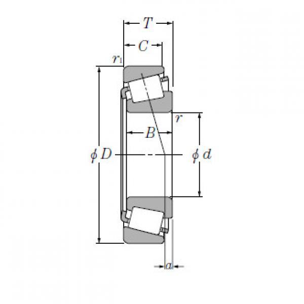 Bearing T-HH234031/HH234010 #1 image